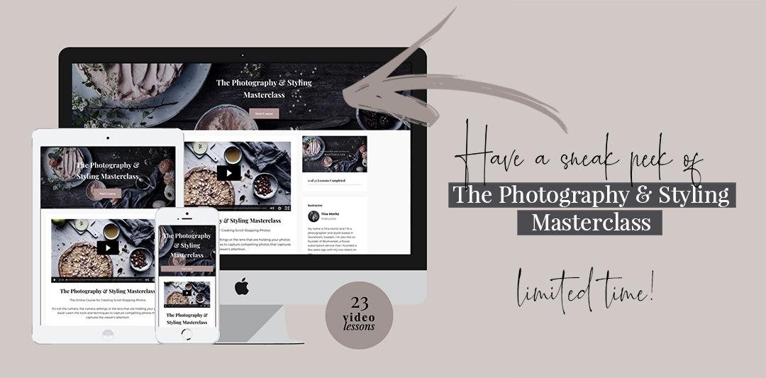 photography course sneak peek